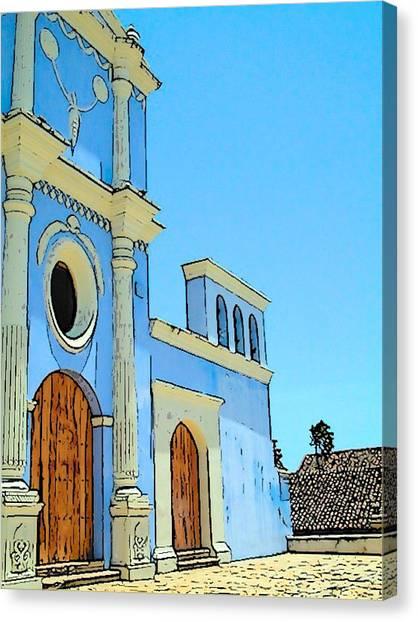 Central America Nicaragua Canvas Print