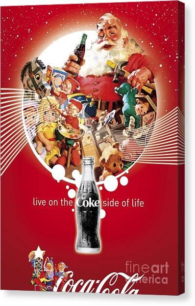 Coca Cola Canvas Print - Coca Cola by Coke