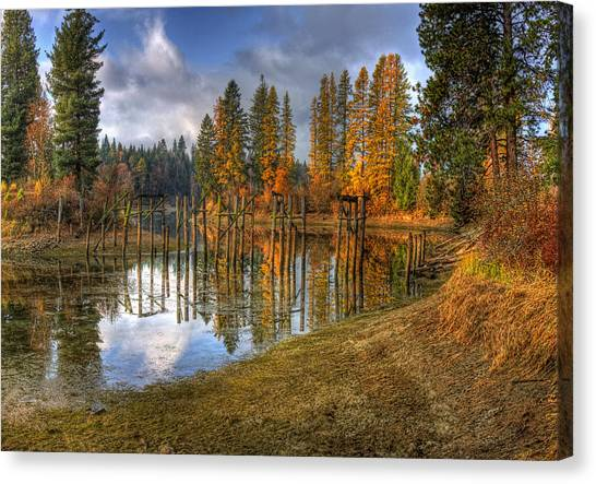 Cocolala Creek Slough Canvas Print
