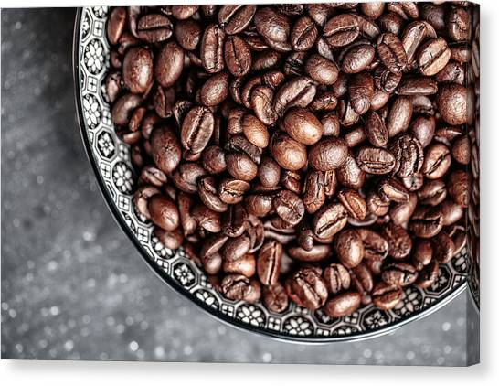 Coffee Canvas Print - Coffee by Nailia Schwarz