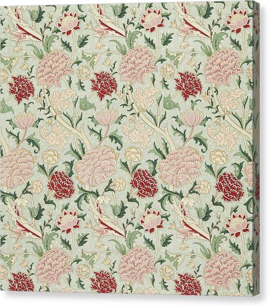William Morris Canvas Print - Cray by William Morris