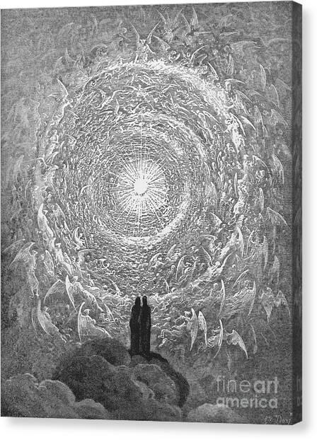 Dante Paradise Canvas Print