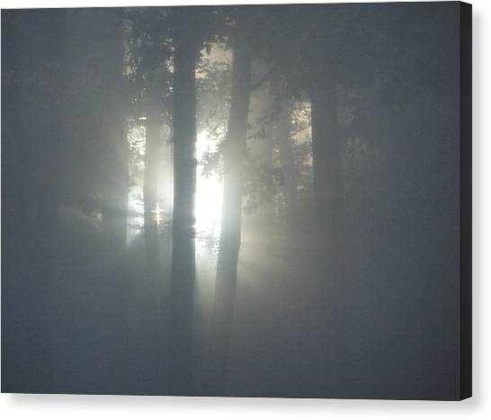 Daybreak Of Creation Canvas Print by Lila Mattison