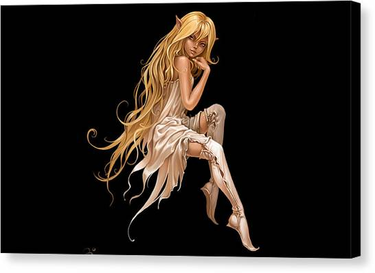Biology Canvas Print - Elf by Maye Loeser