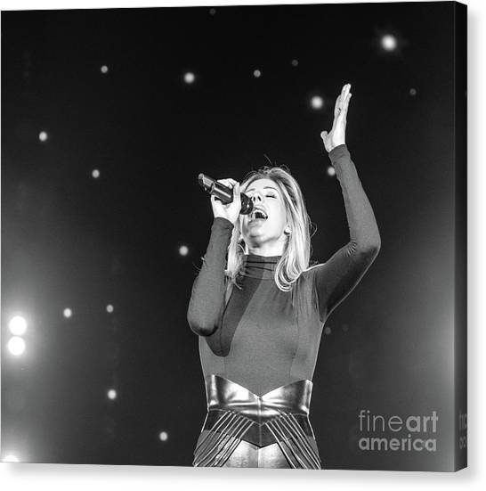 Ellie Goulding Canvas Print