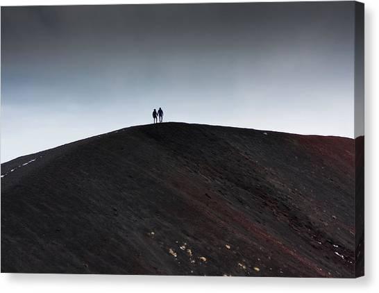 Etna, The Volcano Canvas Print