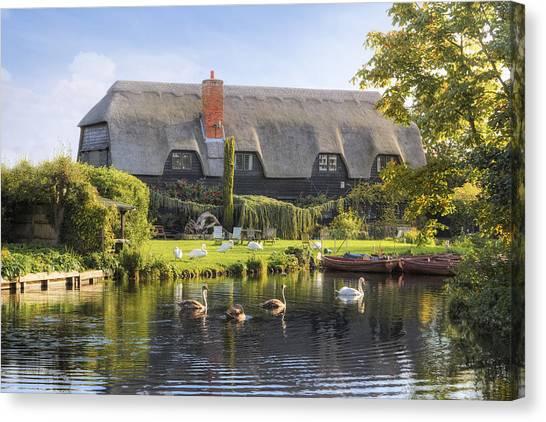 Dedham Canvas Print - Flatford - England by Joana Kruse