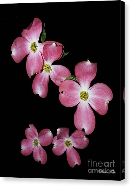 Flower Canvas Print by Diane Falk