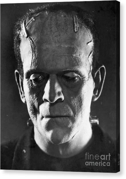 Aod Canvas Print - Frankenstein, 1931 by Granger