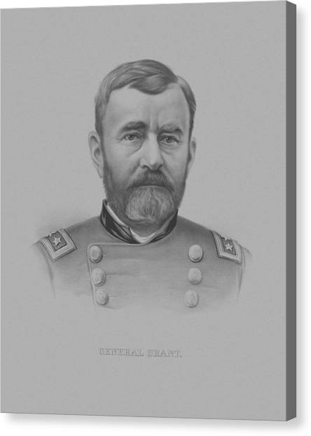 U. S. Presidents Canvas Print - General Grant - Two by War Is Hell Store