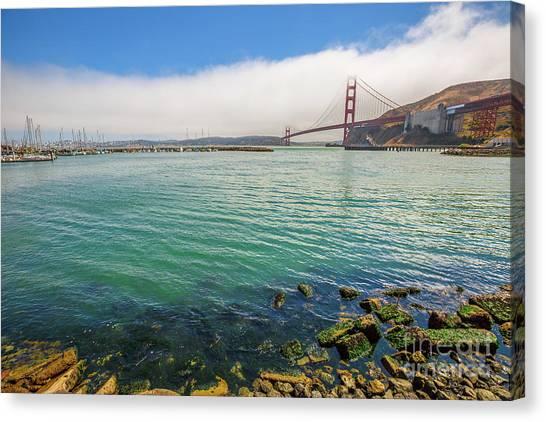 Sausalito california canvas prints page 18 of 23 fine art america sausalito california canvas print golden gate bridge sausalito by benny marty altavistaventures Gallery