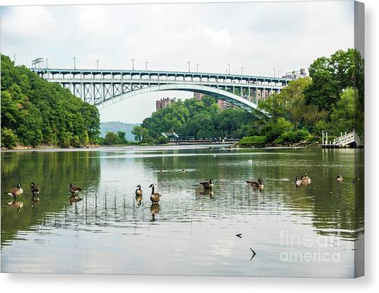 Henry Hudson Bridge Canvas Print