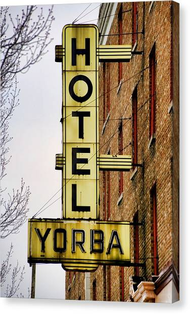 De Stijl Canvas Print - Hotel Yorba by Gordon Dean II