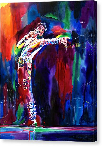 Michael Jackson Canvas Print - Jackson Magic by David Lloyd Glover