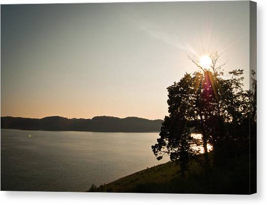 Lake Cumberland Sunset Canvas Print