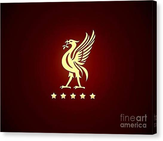 Liverpool Fc Canvas Print - Liverpool by Sonata Lims