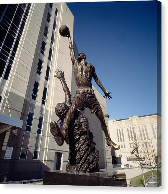 Jordan Canvas Print - Low Angle View Of A Statue In Front by Panoramic Images