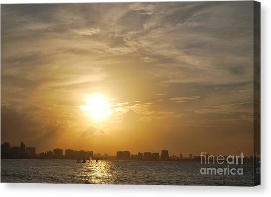 Loyda's Point Of View Canvas Print