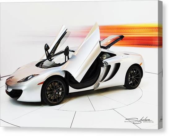 Mclaren Mp4-12c Canvas Print