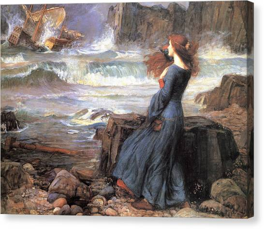 Miranda - The Tempest Canvas Print