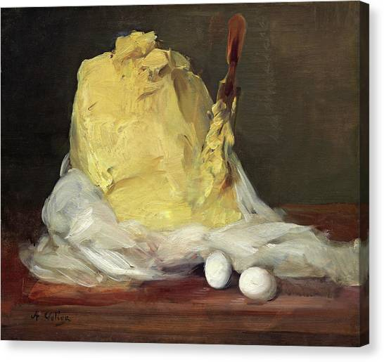 Mound Of Butter Canvas Print