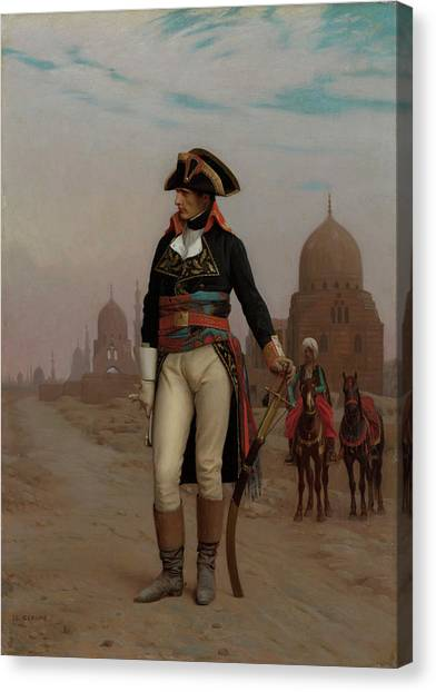 The Nile Canvas Print - Napoleon In Egypt by Jean-Leon Gerome