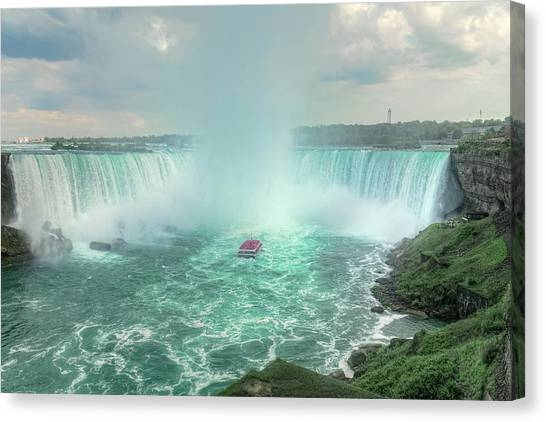 Horseshoe Falls Canvas Print - Niagara Falls - North America by Joana Kruse