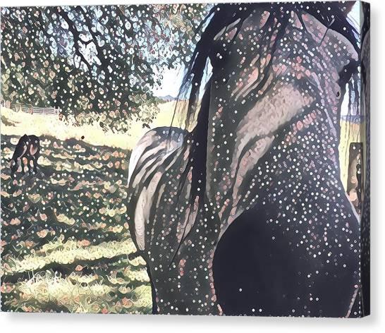 Nosey Belle Canvas Print