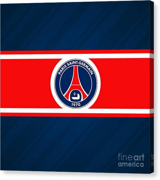 Paris Saint-germain Fc Canvas Print - Paris Saint-germain by Patrik Sowa
