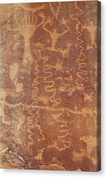 Petroglyph - Fremont Indian Canvas Print