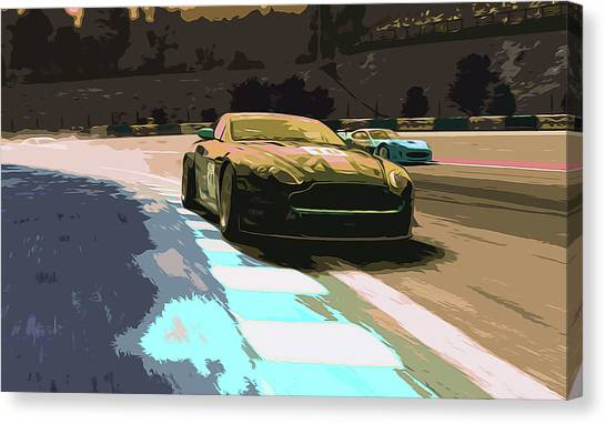 Power And Motors Canvas Print by Andrea Mazzocchetti