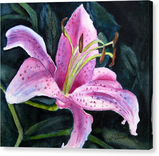 Pretty In Pink Canvas Print by Pat Vickers