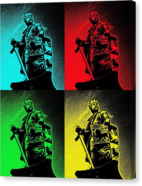 Prince Of Wales Canvas Print