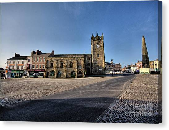 Places Canvas Print - Richmond, North Yorkshire by Smart Aviation