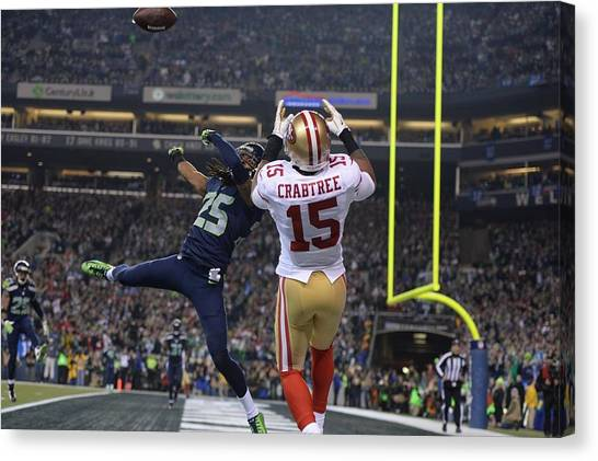 Seattle Seahawks Canvas Print - Seattle Seahawks by Mariel Mcmeeking