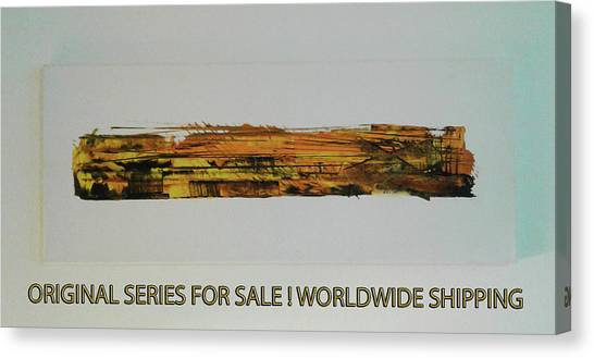 Series Abstract Worlds Only Originals For Sale Worldwide Shipping Canvas Print