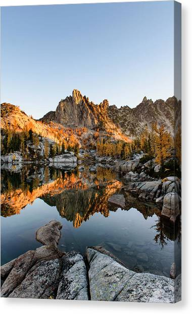 Sunrise In The Enchantments Canvas Print