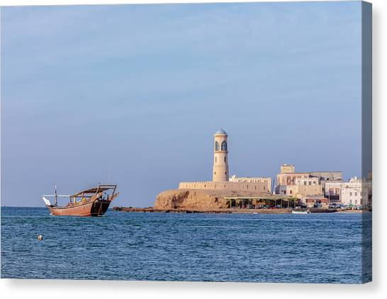 Ashes Canvas Print - Sur - Oman by Joana Kruse