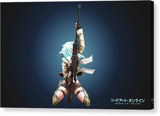 Biology Canvas Print - Sword Art Online II by Maye Loeser