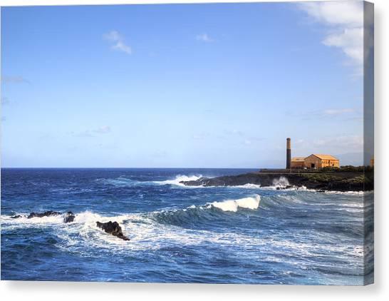 Canaries Canvas Print - Tenerife - Garachico  by Joana Kruse
