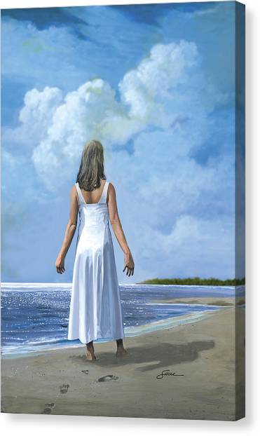 The Awakening Canvas Print by Harold Shull