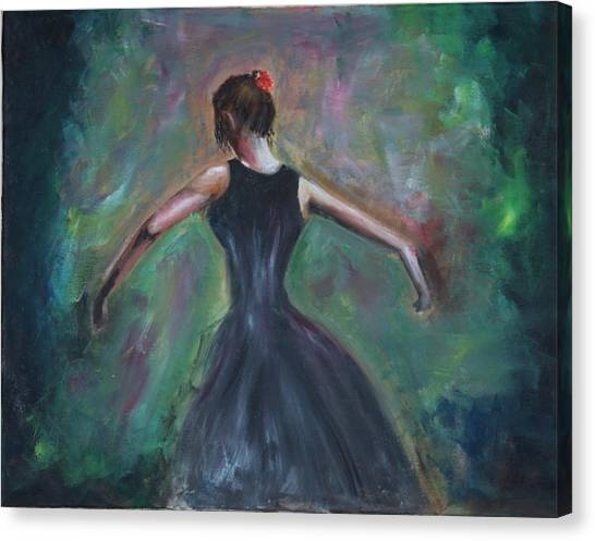 The Dancer Canvas Print by Taly Bar