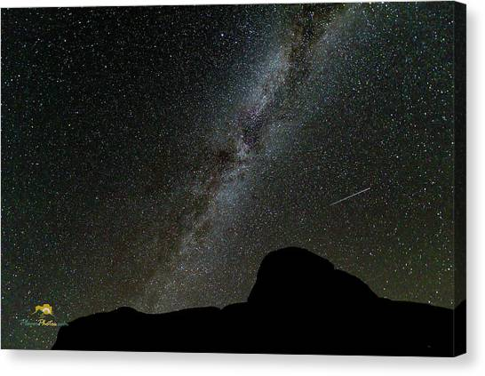 Canvas Print featuring the photograph The Milky Way by Jim Thompson