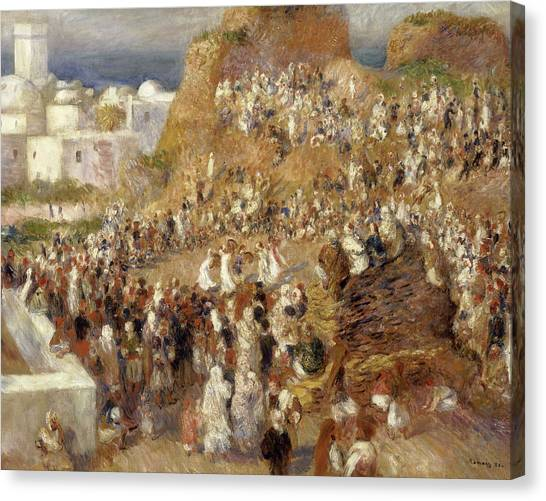 Pierre-auguste Renoir Canvas Print - The Mosque by Pierre-Auguste Renoir
