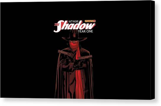 Biology Canvas Print - The Shadow by Super Lovely