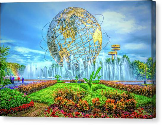 The Unisphere Canvas Print