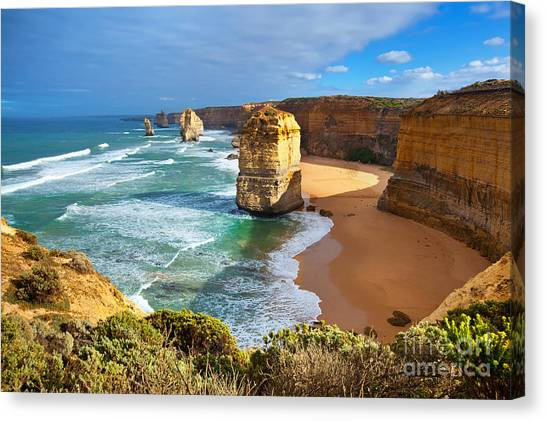 Twelve Apostles Great Ocean Road Canvas Print