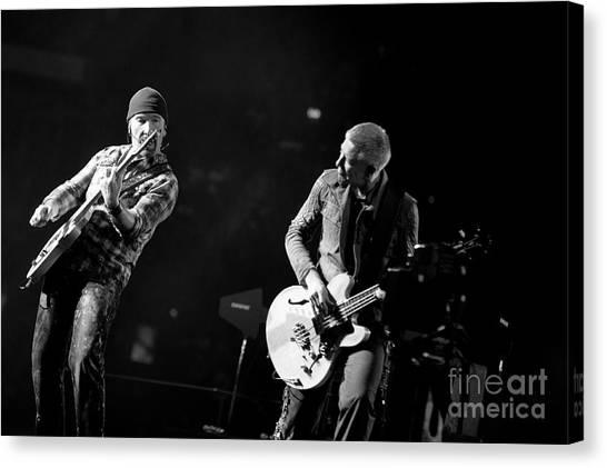U2 Canvas Print - U2 by Jenny Potter