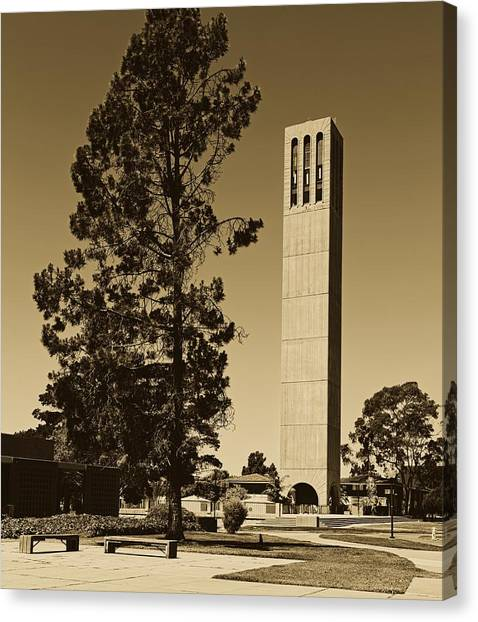 Ucsb Canvas Print - University Of California, Santa Barbara Campus by Mountain Dreams