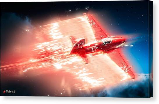 Star Wars Canvas Print - War Thunder by Super Lovely